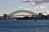 The Sydney Harbour Bridge, from Bradley's Head (john cowper) Tags: sydney newsouthwales sydneyharbour sydneyharbourbridge ladynorthcott