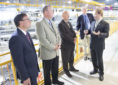 A visit from Minister Doherty (Canadian Light Source) Tags: nuclear science government medicine synchrotron saskatchewan innovation universityofsaskatchewan canadianlightsourcesynchrotron brightestlightincanada