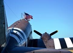 US Air Force Douglas C-47A Skytrain N345AB 'Whiskey 7' Looking Forward (Mark 1991) Tags: douglas skytrain dakota prestwick usairforce pik c47 prestwickairport n345ab whiskey7