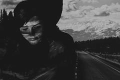 On the Road (Marek Kalich) Tags: road travel blackandwhite girl dream explore wish