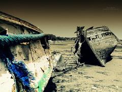 Bleu (Eric DOLLET - Trs peu prsent) Tags: bretagne bateaux paves minihicsurrance ericdollet