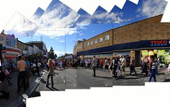 Cowley Road Carnival (Jim Davies) Tags: carnival collage sony picasa cybershot oxford photomontage joiner cowleyroad hockneyesque dscw55 veebotique