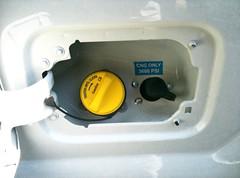 F250 CNG Receptacles
