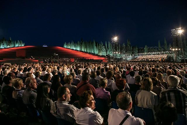 Il Sacrario Militare durante il Concerto