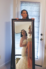 Kaci's Reflection (goonkvilaivanh) Tags: flowers wedding sunset portrait white man black texture garter cake groom mirror bride tim dance backyard mine father stickers daughter grain mother ceremony first marriage son best sparklers bridesmaids toss bouquet smirk groomsmen shes newly kaci pearson reeses selfie weds