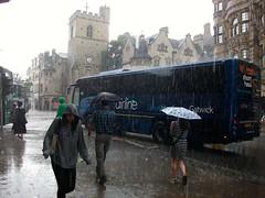 Carfax, Oxford (2014 Week 29 of 52 Weeks) (Brownie Bear) Tags: street uk summer england storm rain st high britain united great kingdom oxford gb week 29 weeks heavy 52 carfax xxix 2014 lii 2952 mmxiv
