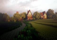 Rendering of Ambervale Sunrise. - more at http://ift.tt/1a7N3av (Minecraft Server Finder) Tags: list server servers minecraft minecraftserverfindercom