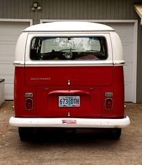 VW Bus (thefotostick) Tags: old red bus vw cherry peace oldschool van vanagan