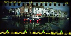 Weymouth Harbour (fitzhughfella) Tags: film 35mm agfa weymouth sprockets sprocketrocket sprocketography
