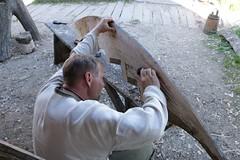 73 Haithabu Bootsbauplatz WHH 25-05-2014 (Kai-Erik) Tags: geo:lat=5449113506 geo:lon=956703277 geotagged haithabu hedeby heddeby heiðabýr heithabyr heidiba siedlung frühmittelalterlichestadt stadt town wikingerzeit wikinger vikinger vikings viking vikingr häuser house vikingehuse vikingetidshusene museum archäologie archaeology arkæologi arkeologi whh wmh haddebyernoor handelsmetropole museumsfreifläche wall stadtwall danewerk danevirke danæwirchi oldenburg schleswigholstein slesvigholsten slesvigland deutschland tyskland germany bootsbau schiffsschmiede kaizausch bootsbauplatz teinæringr 25052014 25mai2014 05252014 25may2017 httpwwwhaithabutagebuchde httpwwwschlossgottorfdehaithabu httpwwwrahsegelde