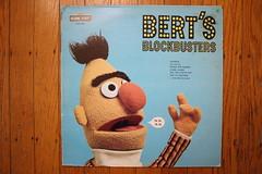 Bert's Blockbusters (Sesame St. Records 1974) (Donald Deveau) Tags: bert bertsblockbusters sesamestreet record vinyl lp tvshow muppets jimhenson