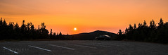 Sunset @ Mont-Mégantic (-> LorenzMao <- Catching up) Tags: montmégantic sunset panorama pano trees parkinglot parking car d750 quebec canada tamron1530mmf28vc tamron1530mm tamronlens tamron nikon nikond750