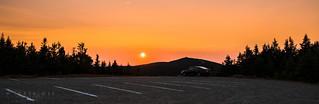 Sunset @ Mont-Mégantic