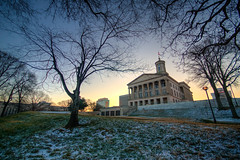 Tennessee State Capitol Building (ap0013) Tags: tennessee state capitol nashville architecture sunrise snow tennesseestatecapitol nashvilletennessee capitolbuilding