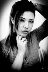 ZAIDA013 (DivinaLocura) Tags: beautiful bw blackandwhite blancoynegro portrait retratos retrato gente light luznatural chica