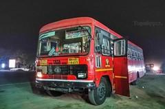 Nagpur - Hyderabad (yogeshyp) Tags: msrtc maharashtrastatetransport msrtcparivartanbus nagpur2depotbus nagpurhyderabadstbus