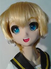 Happy Len- 1 (Sister Kyoya) Tags: len dds boy male volks sister ddh06 vocaloid lenkagamine dollfiedream wencon wenatchee