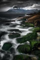 Moody Elgol (devlin11) Tags: skye scotland scenery sky seascape mountains mountain mystic nikon exposure highlands cuillins cuillin