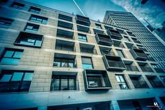 Missing Neighbors (creati.vince) Tags: architecture cityscape creativince frankfurt germany mainhattan skyscraper windows