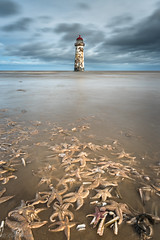 All washed up!!! (evorichie101) Tags: seascape lighthouse landscape starfish dead death washed up sand sea long exposure nikon lee hitech