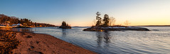 Golden Hour (Me in ME) Tags: harpswell maine sunset goldenhour panorama