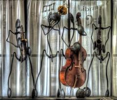 Note by Note (clarkcg photography) Tags: notes music horns bass trombone inspiremethursday tulsajazzhalloffame jazz saxophone