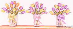 Easter Photoshoot 1-105 (Poppys_Second_Life) Tags: popi popikone popikonesadventuresin2l popisadventuresin2l 2l secondlife virtualphotography poppy picsbyⓟⓞⓟⓟⓨ sl easter 2017 greetings flowers vase tulips