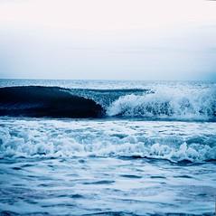 Whale Tail Wave (kellystark92) Tags: beach northeastcoast northumberlandcoast seatonsluice wave sea seascape blue crash water coast coastal seaside beachphotography