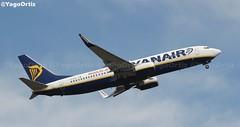 MOLDIN JEST OK! (yagoortiz) Tags: avion 737800 ryanair eievf santiago alacant scq boeing moldinjestok