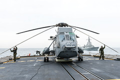 SEA SHIELD EXERCISE 2017 (NATO HQ MARCOM) Tags: canada ch124 exercise hmcs marcom maritime maritimecommand nato northatlantictreatyorganisation seaking snmg2 stjohns seashield tu02