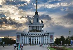 Москва, Россия, павильон Центральный ВДНХ (zzuka) Tags: москва россия moscow russia