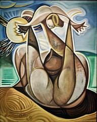 Maternity (1948) - José de Almada Negreiros (1893-1970) (pedrosimoes7) Tags: josédealmadanegreiros caloustegulbenkianmuseum moderncollection lisbon portugal creativecommons cc ✩ecoledesbeauxarts✩ artgalleryandmuseums