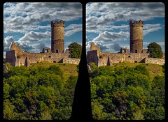 Mühlburg 3-D / Stereoscopy / CrossEye / HDR / Raw (Stereotron) Tags: thuringia thüringen eisenach mühlburg architecture 3gleichen castle ruins burg burgruine europe germany crosseye crosseyed crossview xview cross eye pair freeview sidebyside sbs kreuzblick 3d 3dphoto 3dstereo 3rddimension spatial stereo stereo3d stereophoto stereophotography stereoscopic stereoscopy stereotron threedimensional stereoview stereophotomaker stereophotograph 3dpicture 3dglasses 3dimage hyperstereo twin canon eos 550d yongnuo radio transmitter remote control synchron tonemapping hdr hdri raw