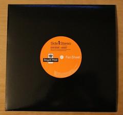 David Bowie - Heroes - Royal Mail Fan Sheet Sleeve (Darren...) Tags: