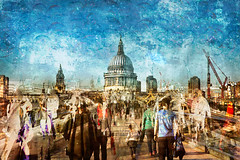 Hustle and Bustle - A Day in the City (RCARCARCA) Tags: 5diii southbank canon awake 2470l london