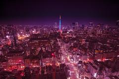 remake (S.Hirose) Tags: japan tokyo tower light dark lightroom hdr asia sony voigtlander remake digital cityscape
