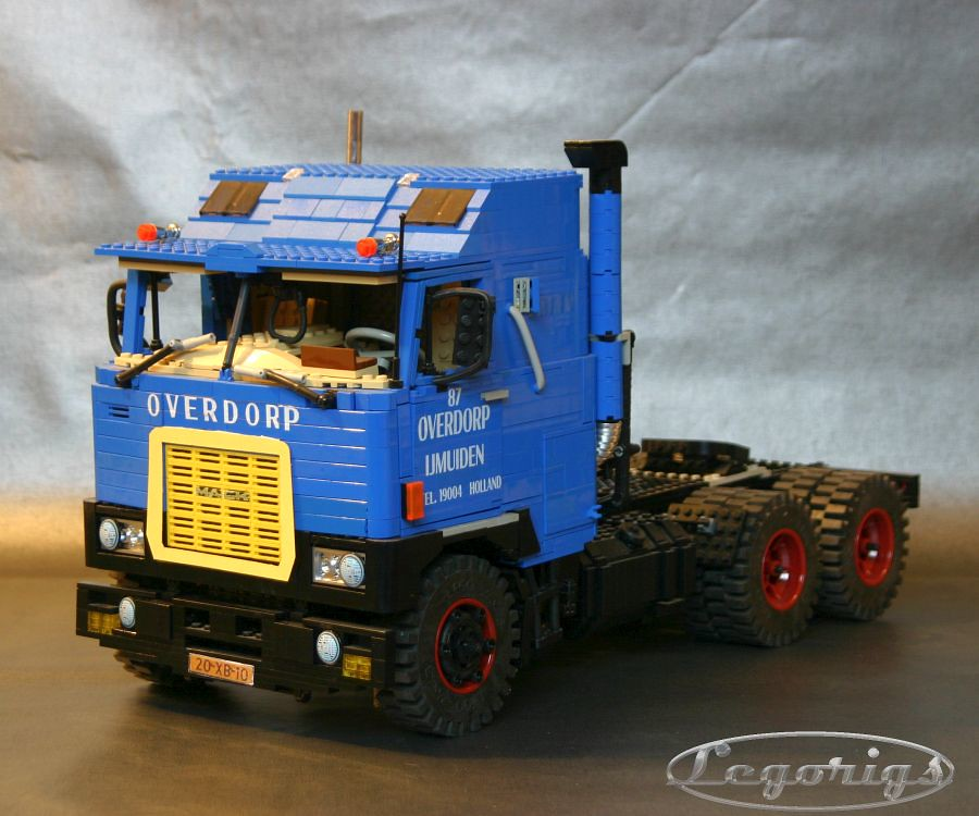 lego technic mack truck instructions