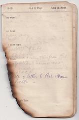 30 Aug - 5 Sept 1915 (wheresshelly) Tags: ww1 wwi world war 1 australia gallipoli egypt military australian 4th field ambulance anzac morton wilfred