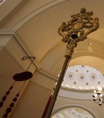 Tintinnabulum and Galero (Lawrence OP) Tags: baltimore basilica assumption nationalshrine benjaminhenrylatrobe galero tintinnabulum bell papal