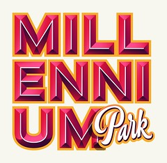 Instagram Stickers — Millennium Park 02 (Kyle J. Letendre) Tags: lettering instagram chicago sticker graphic design illustration hot dog chicagodog millennium park lincoln lakeview south side dimensional dimension type typography letter