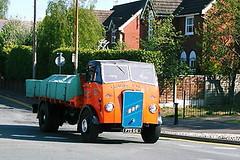ERF Dropside Cheshire Run 2007 Frank Hilton _1 (Frank Hilton.) Tags: classic truck lorry eight wheel maudsley aec atkinson albion leyalnd bristol austin outside heavy haulage crane 8 axle