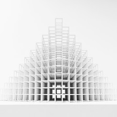 Sol Levitt @SFMOMA #sfmoma -in monochrome (Dan Hogman) Tags: sfmoma architect architecture california danhogman danhogmanarchitect danhogmanphotography danhogmancom fuji fujifilm fujifilmx instalation unitedstates usa xe1 sanfrancisco