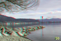 Lake Constance 3D (lambo_photo) Tags: bodensee lake constance bregenz austria österreich vorarlberg anaglyph 3d fuji hdr