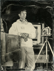 20160610_63352 (AWelsh) Tags: camp john coffer andrewwelsh rochester ny dundee outdoor workshop epson v700 scan tintype tin type aluminotype collodion wet plate wetplate selfie selfportrait self portrait autoportrait