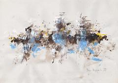 LUFTGEISTER, 2017 (Marie Kappweiler) Tags: peintures paintings malerie papier paper art kunst kappweiler acryl pigmente décalcomanie