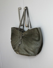 Anya Hindmarch Pony Hair Shoulder Bag in Khaki (StoredandAdored) Tags: anya hindmarch designer handbags bags sacs borse purses pony hair luxury accessories british fashion fbloggers fblogger style accessorize preloved pre loved preowned authentic