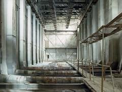 Dryer (soho42) Tags: abandoned industry decay lost analog urbanexploration urbex mamiya645protl kodakektar100