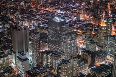 New York (karinavera) Tags: travel sonya7r2 newyork aerial city cityscape night nyc puzzle view wtc
