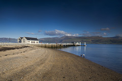 Beaumaris (Elysian-Photography) Tags: anglesey seaside beach wales coast sunshine bluesky seascape water clouds pier northwestengland uk waves sea sand spring