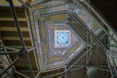 Asymmetric Stairs (Biosphere 2) (jeff_a_goldberg) Tags: universityofarizona biospher2 biosphere winter hdr tucson arizona unitedstates us